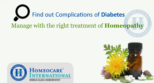 diabetes through homeopathy