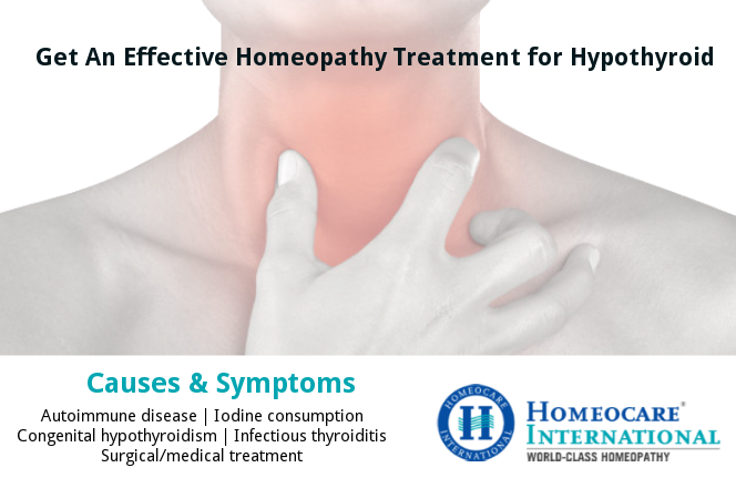 Homeopathy treatment for Hypothyroid