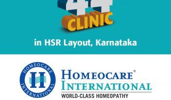 Homeocare International 44th Clinic Grand Opening in HSR Layout Karnataka