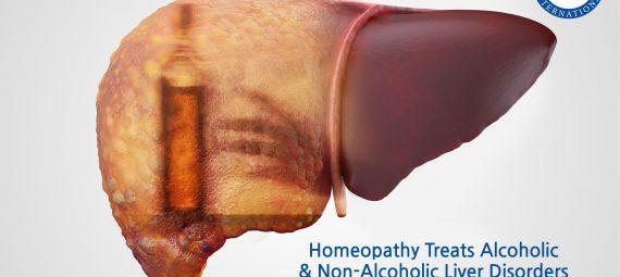 Homeopathy Treats Alcoholic Non-Alcoholic Liver Disorders