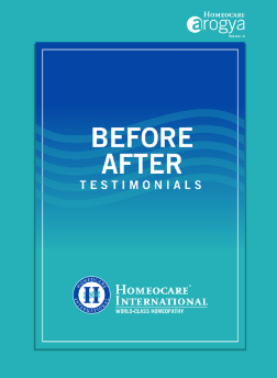 Homeopathy Magazine - Before After Testimonials