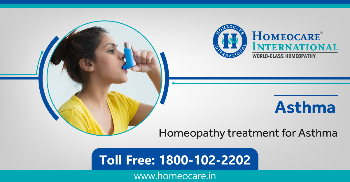 asthma treatment in homeopathy