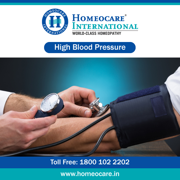Homeopathy treatment for high blood pressure