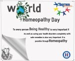 World Homeopathy Day on April 10th