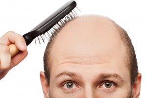 HairLoss-BrushingHair