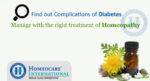 Find out Complications of Diabetes & Manage with the right treatment of Homeopathy